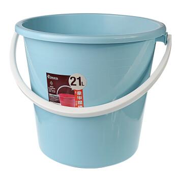 茶花塑料桶水桶洗澡桶泡澡桶沐浴桶塑料桶手提桶