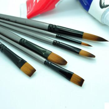 蒙玛特 专业套装丙烯笔/油画笔/水彩画笔/水粉画笔/勾线笔颜料 9号