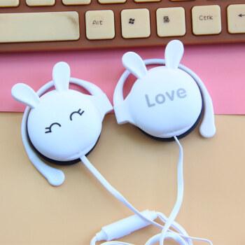 寻梦人糖果色耳机女生萌 猫耳朵耳机头戴式可爱粉 线控带麦k歌手机