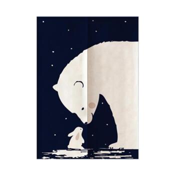 间窗帘帘子款国风成品清四季卧室水帘卡通家用屏风简约卡通厨房门帘风图片