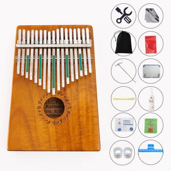 gecko 壁虎拇指钢琴便携卡林巴琴10音17音手指琴拇指琴乐器kalimba k图片