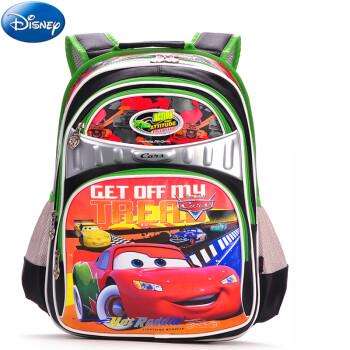 迪士尼(Disney)书包小学生 双肩儿童书包背包 双肩男 0009清爽绿