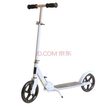 scooter K8成人滑板车代步车二轮可折叠超大轮 白色