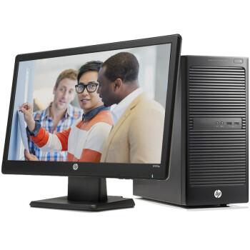 惠普(HP)202 G2 J8G37PA 商用台式电脑(G1820T 4G 500G 键鼠 Win8.1)18.5英寸显示器