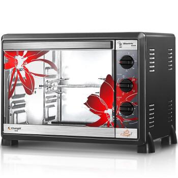长帝(changdi)电烤箱家用多功能30升/L 带转叉 CKF-30BS