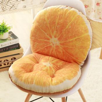 简单布艺橘子制作图解