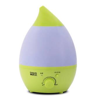 美悦达小水滴加湿器 家用静音 香薰空气加湿器 七彩夜灯 整夜加湿 HTJ-2001 2.8L