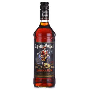 摩根船长(Captain Morgan)(黑)牙买加朗姆酒 700ml