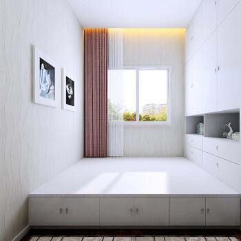 定制衣柜 日式风格 收纳储物床榻榻米衣柜家具组合定制家具 测量设计