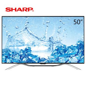 夏普(SHARP) LCD-50DS60A 50英寸 新一代全高清安卓系统3D智能液晶电视(黑色)
