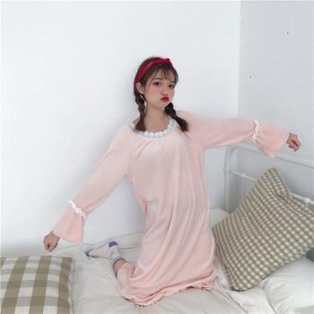 加厚珊瑚绒睡衣女秋冬款甜美可爱学生韩版法兰绒大码家居服套装潮