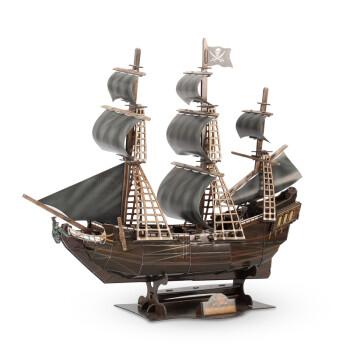 乐立方3d立体拼图邮轮船模型帆船蒸纸质汽船显示图纸cad不建筑全图片