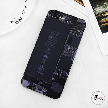 创意伪装拆机电路板透视苹果8plus手机壳iphone7个性软壳6s恶搞怪 6