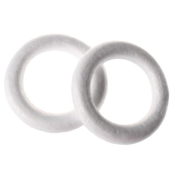 手工材料diy儿童手工制作幼儿手工diy多规格保丽龙单个装 15cm圆环
