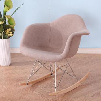 摇摇椅创意摇椅室内凉椅小学生家用摇摇摇椅椅子中客厅摇篮 咖啡色包图片