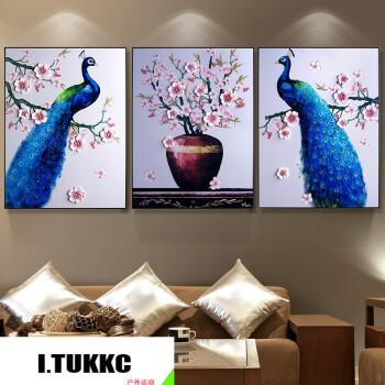 无界竖版客厅装饰画现代简约餐厅有框墙画3d立体浮雕画玄关走廊过道创