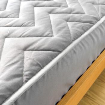 南极人 床笠家纺 加厚夹棉床笠床罩 可水洗床垫套防滑床垫保护套 灰色 150*200cm