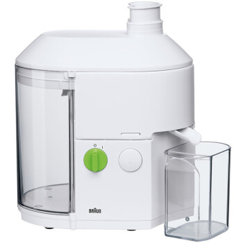 德国博朗(Braun) SJ3000 榨汁机 600W 家用 多功能 果汁机 离心榨汁机