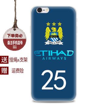 虎图腾 小米max 2 mix 2 note/2/3手机壳曼城足球队徽
