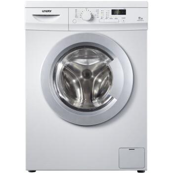 统帅(Leader)@G8012B07W 8公斤 变频滚筒洗衣机 1200转速 芯变频技术(灰白色)【海尔荣誉出品】