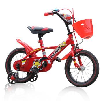 伊佰信 ybx品牌14寸16寸12寸儿童单车 3岁小孩自行车男女童带辅助轮