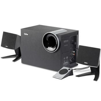 漫步者(EDIFIER) R201T北美 2.1声道 多媒体音箱 黑色