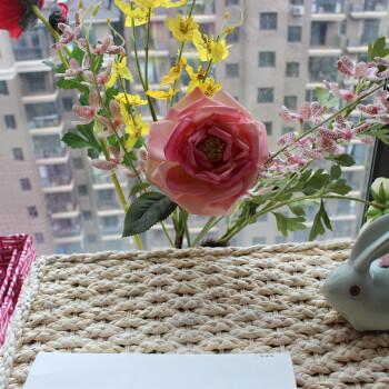 玉米皮儿童手工制作花教程