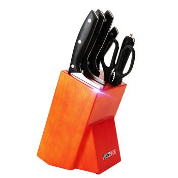 爱仕达刀具套装 全套厨房菜刀七件套刀具组合不锈钢水果刀902207
