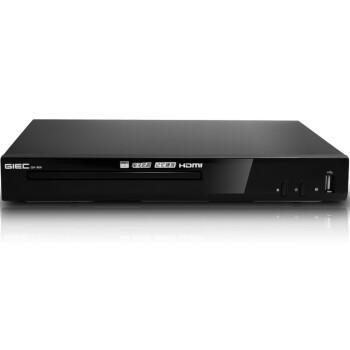杰科(GIEC)GK-906 HDMI接口 DVD播放机 CD机 VCD影碟机 USB光盘播放器(黑色)