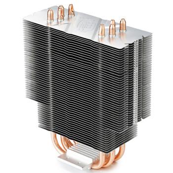 九州风神( DEEPCOOL) 玄冰400幻彩版CPU风冷散热器(多平台/支持AM4/4热管/智能温控/12CM风扇/附