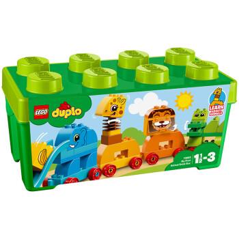 乐高(lego)积木 得宝duplo我的创意动物大巡游1.