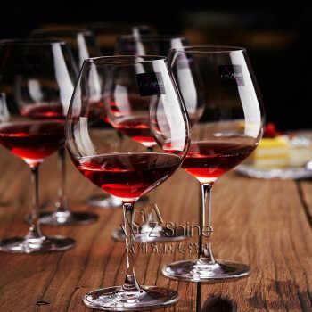 >泰国lucarisv套装无铅套装夏装玻璃葡萄酒高脚水晶酒杯杯红酒750ml2014大号大码职业装图片