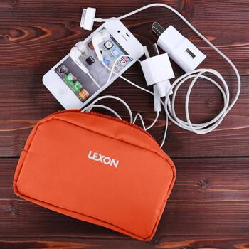 乐上(LEXON) 彩色MINI旅行配件包化妆包洗漱包 LN102O3暖红 ¥21