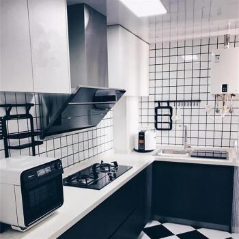 北欧厨房瓷砖 卫生间墙砖阳台白色格子面包砖厨卫小白