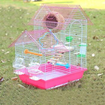 408折叠鸟笼大空间鸟别墅鸟笼金属笼八哥鹩哥画眉鹦鹉图片