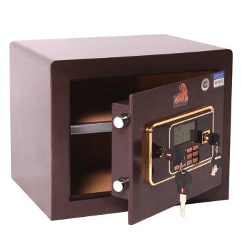 虎牌(Tiger)3C认证AAA-29.8保险柜家用入墙全钢防盗报警家用办公电子密码保险箱
