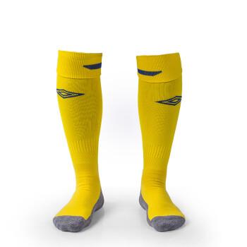 茵宝足球袜男 毛巾底防滑长筒过膝运动训练比赛袜 耐磨球袜36029701 黄色 均码