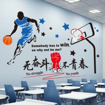 风采自粘墙纸企业教室壁纸 01自己亦是风景+篮球选手(让他人另眼相看)