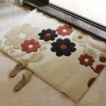 椅垫花朵立体剪花地毯花朵一串 80*120cm