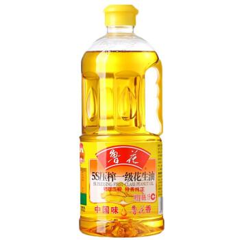 鲁花 5S 压榨一级 花生油 1L