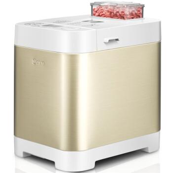东菱(Donlim) 面包机 不锈钢自动撒料 家用全自动和面 DL-T06S-K