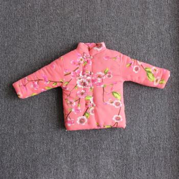 冬季宝宝纯手工棉花棉袄 婴幼儿儿童内穿纯棉内胆 冬季加厚棉袄 皮红
