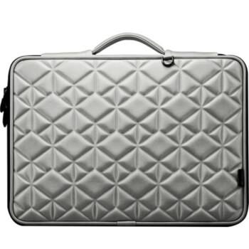 黑贝壳MacBook Pro Air内胆包13.3寸苹果笔记本手提电脑包保护套H系 水晶纹银色