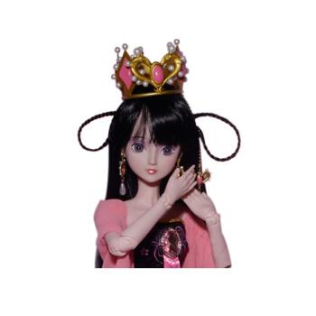 夜萝莉叶罗丽娃娃儿童生日情人结婚礼物bjd娃娃sd大娃娃60厘米 婚纱