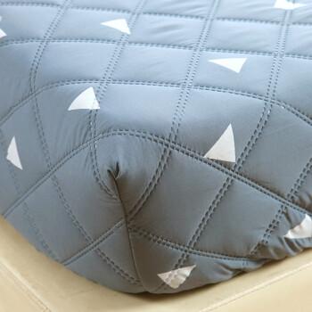艾薇 床笠家纺 加厚夹棉床罩床单 可水洗床垫套防滑床垫保护套 夹棉床笠 爱巢 150*200cm