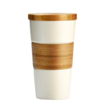 特美刻(TOMIC)马克杯 陶瓷杯情侣咖啡杯创意水杯子 1BPM1322 白色