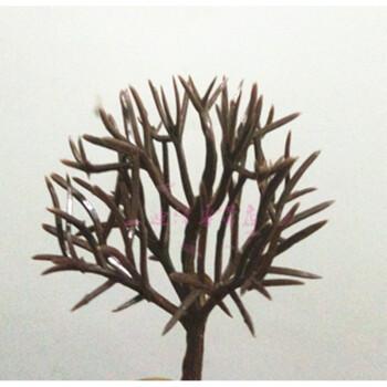雪糕棒儿童手工制作diy模型房子装饰材料花树绿树树粉