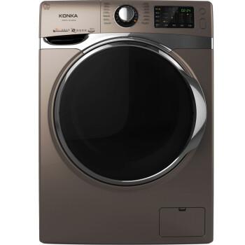 康佳(KONKA)XQG75-B12283Z 7.5公斤 变频滚筒洗衣机 DD直驱变频(炫棕色)