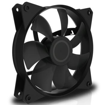 酷冷至尊(CoolerMaster)MasterFan MF120L 机箱风扇(均衡型风扇/旋翼扇叶/12cm/静音减噪