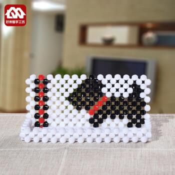 珠中珠手工串珠手机支架材料包diy散珠子编织家居用品工艺饰品制作